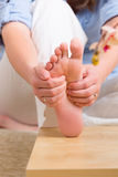 Reflexology Royalty Free Stock Photos