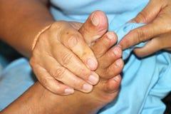 Reflexology massage, spa foot treatment,Thailand. Reflexology foot massage, spa foot treatment,Thailand Stock Photography