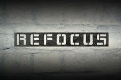 Refocus WORD GR Stock Photos