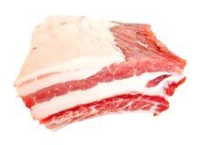 Reforço da carne fresca no branco Fotografia de Stock Royalty Free