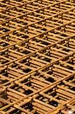 Reforço de aço Fotografia de Stock Royalty Free