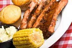 Reforço do BBQ Fotos de Stock Royalty Free