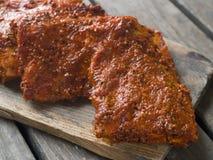 Reforços de carne de porco foto de stock royalty free