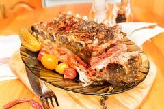 Reforços de carne de porco fotografia de stock royalty free