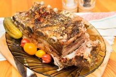 Reforços de carne de porco imagens de stock royalty free