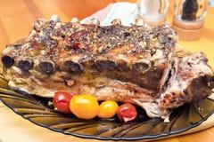 Reforços de carne de porco imagens de stock