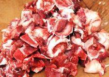 Reforços de carne de porco desbastados Imagens de Stock