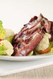 Reforços de carne de porco fumado Imagem de Stock Royalty Free