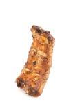 Reforços de carne de porco grelhados isolados fotos de stock