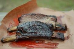 Reforços do BBQ foto de stock royalty free