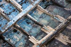 Reforços velhos do barco Foto de Stock Royalty Free