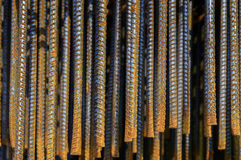 Reforce a haste de ferro de aço Imagem de Stock
