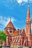 Reformé église (église calviniste) en Hongrie - est le plus grand P Photographie stock