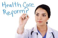 Reforma del cuidado médico fotos de archivo