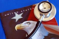 Reforma dos cuidados médicos nos E.U. imagens de stock royalty free