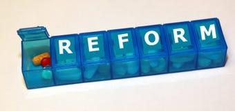 Reforma dos cuidados médicos Imagem de Stock
