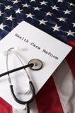 Reforma EUA dos cuidados médicos imagem de stock royalty free