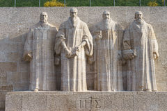 Reformation wall in Geneva Stock Images