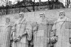 Reformation wall in Geneva Royalty Free Stock Image