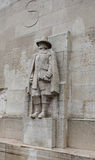 Reformation wall in Geneva, Switzerland. Europe. March 2015 Royalty Free Stock Image