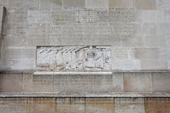 Reformation wall in Geneva, Switzerland. Europe. March 2015 Royalty Free Stock Photography