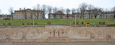 Reformation wall in Geneva, Switzerland Stock Images