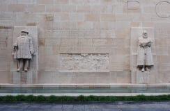 The Reformation Wall in Geneva, Switzerland Stock Photography