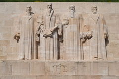 Reformation Wall international monument Royalty Free Stock Images