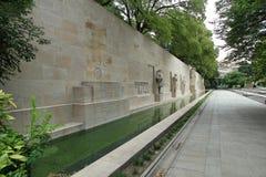 Reformationvägg i Genève Arkivbild