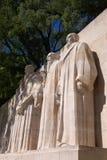 reformatorzy mur genewie Obraz Stock