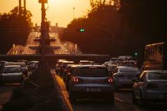 Reformaweg, Mexico-City Stock Afbeelding