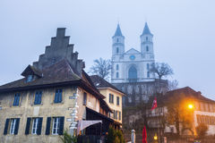 Reformed Church in Aarburg Royalty Free Stock Photos