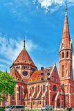 Reformed Church (Calvinist Church) in Hungary - is the largest P Stock Photography