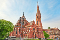 Free Reformed Church (Calvinist Church) In Hungary - Is The Largest P Stock Images - 75277344
