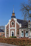 Reformed church in the historical village Thesinge Stock Image
