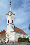 Reformed church of Holy Trinity in Mukacheve Stock Photo
