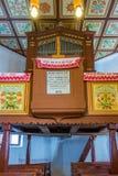 Reformed Church interior Royalty Free Stock Photo