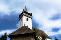 Reformed Church, Khust, Ukraine Stock Images