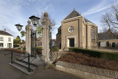 Reformed church in Klundert Stock Images
