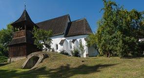 Reformed church of Zubogy, Hungary Stock Photos