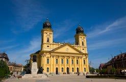 Reformed Great Church in Debrecen Stock Images