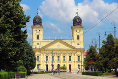 Reformed Great Church, Debrecen, Hungary Royalty Free Stock Image