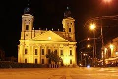 Reformed Great Church, Debrecen, Hungary Royalty Free Stock Photos