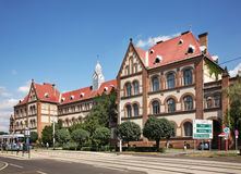 Reformed Teachers College in Debrecen. Hungary Stock Image