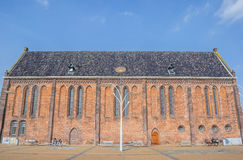 Reformed or Vitus church on the market square in Winschoten Royalty Free Stock Photography