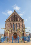 Reformed or Vitus church in Winschoten. Netherlands Royalty Free Stock Images