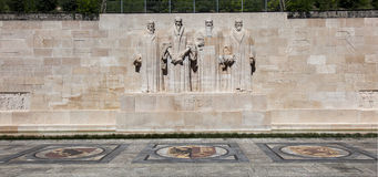 Reformers wall. At Geneve Switzerland Stock Photography