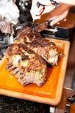 Reforços de carne de porco Fotos de Stock Royalty Free