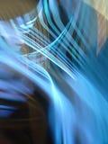 A refração da luz é aplicada na noite Fotografia de Stock