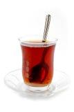 Refracción en té Fotografía de archivo libre de regalías